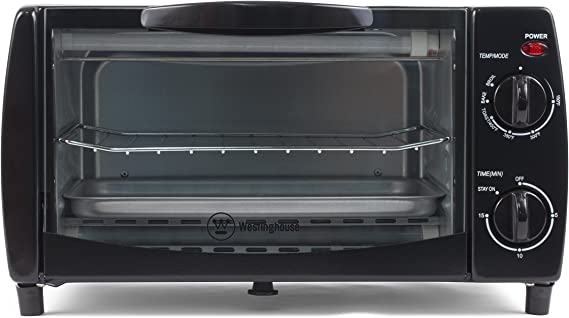 Westinghouse WTO1010B 4-Slice Toaster Oven