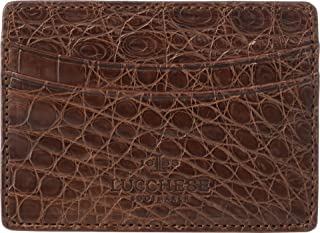 product image for Lucchese Croco Card Case