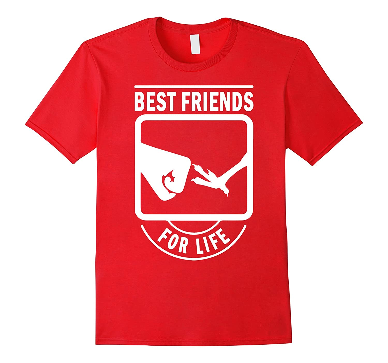Chicken - Best Friends For Life T-Shirt-BN