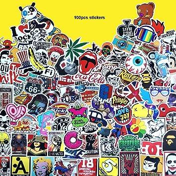 NOS vinyl sticker for skateboard luggage laptop tumblers car c
