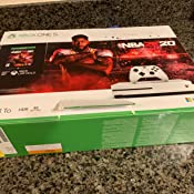 Amazon.com: Xbox One S 1TB Console - NBA 2K20 Bundle