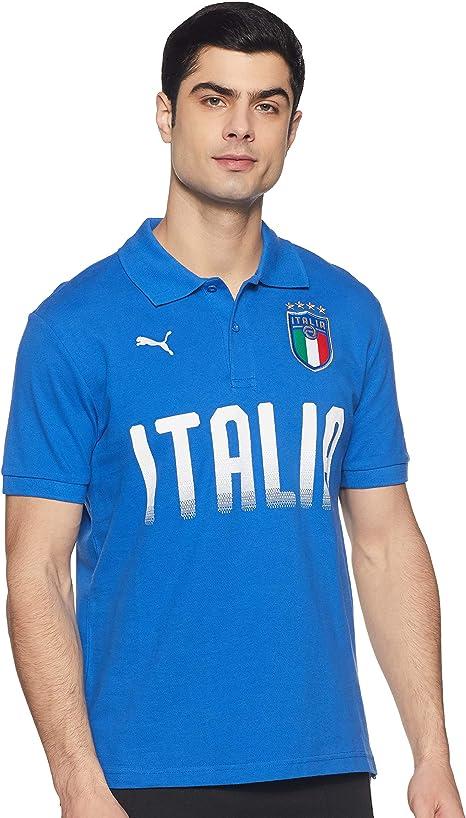 PUMA ITALIE POLO FIGC ITALIA FANWEAR POLO