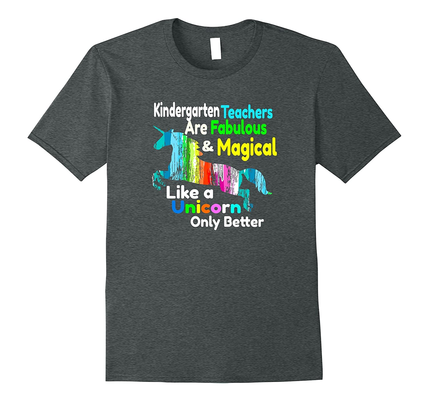 Kindergarten Teacher Gift Shirt Fabulous Magical Unicorn-Art