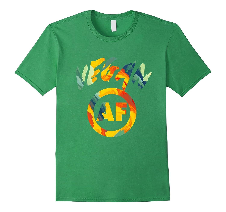 Vegan AF Shirt- Cool Vegetarian Shirt