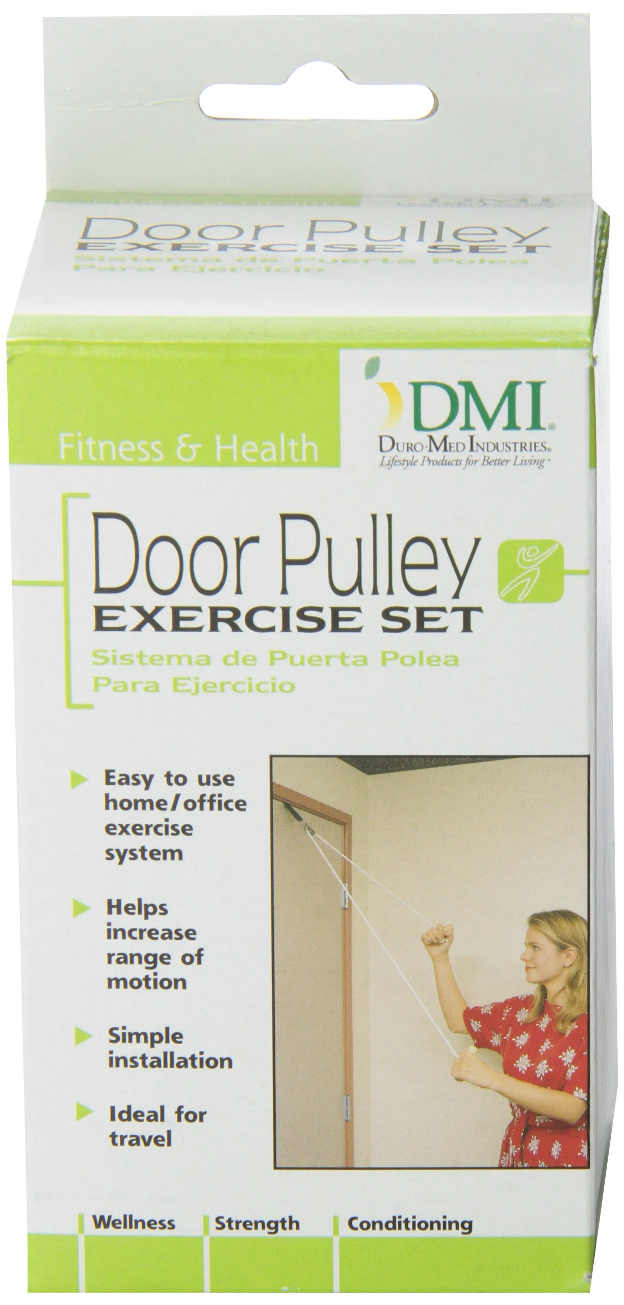 DMI Shoulder Pulley For Physical Therapy, Door Pulley Exerciser, White by Duro-Med (Image #8)