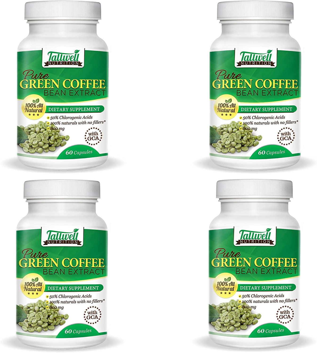Pure green coffee bean extract au