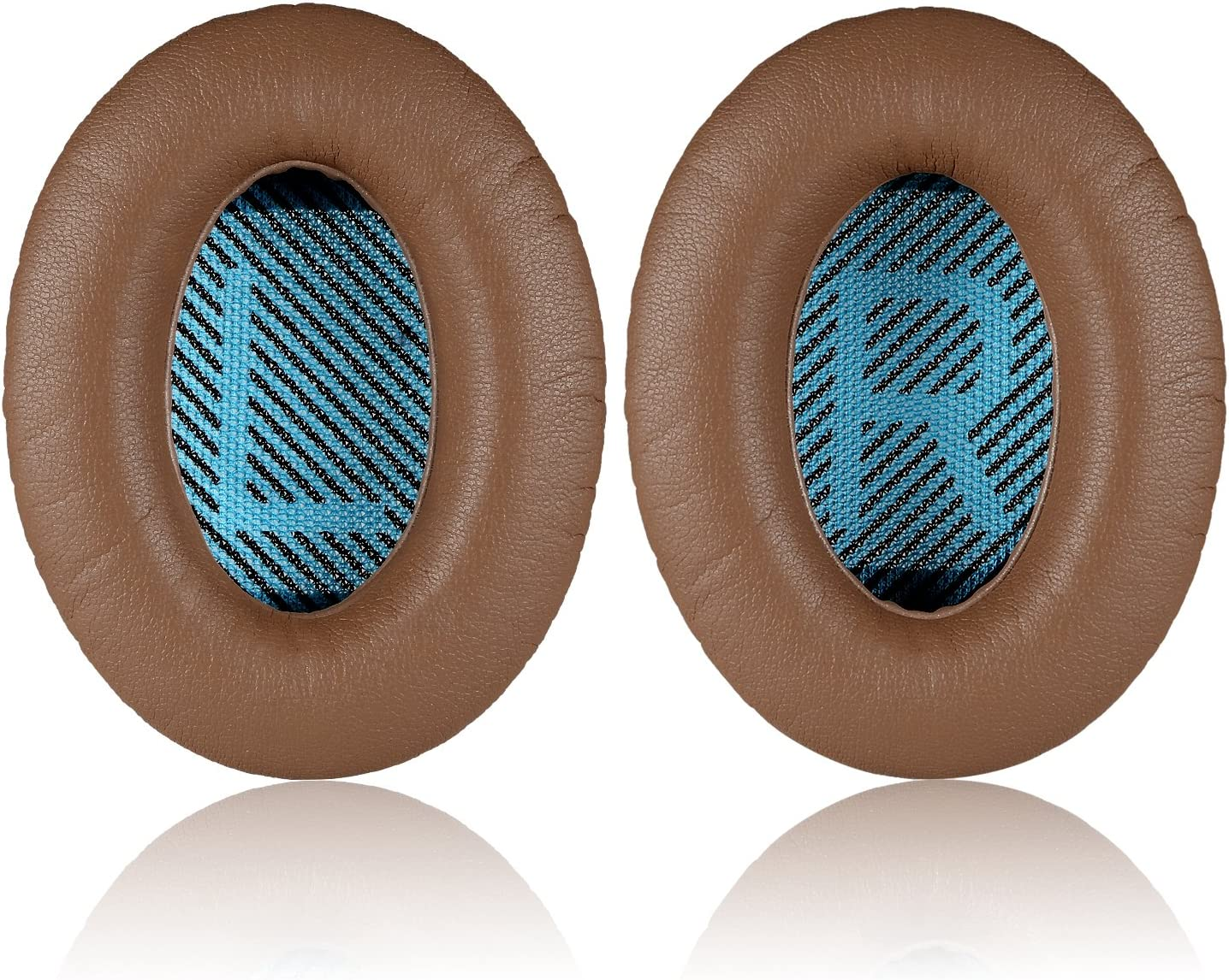 Sound True Brown QuietComfort2 QC25 Replacement Ear Pads Ae2 Sound Link Headphones JARMOR Ear Cushion Kit for Bose QuietComfort25 Ae2w Ae2i QC35 Quiet Comfort 15