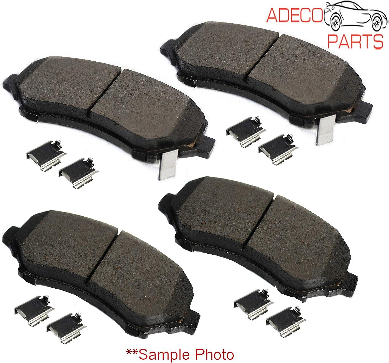 AdecoAutoParts /© Premium Rear Brake Pad Kit CKD995 for Toyota Sienna 2004-2010
