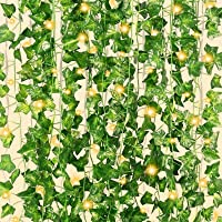 12 Pack CQURE 84Ft Artificial Ivy Garland Deals