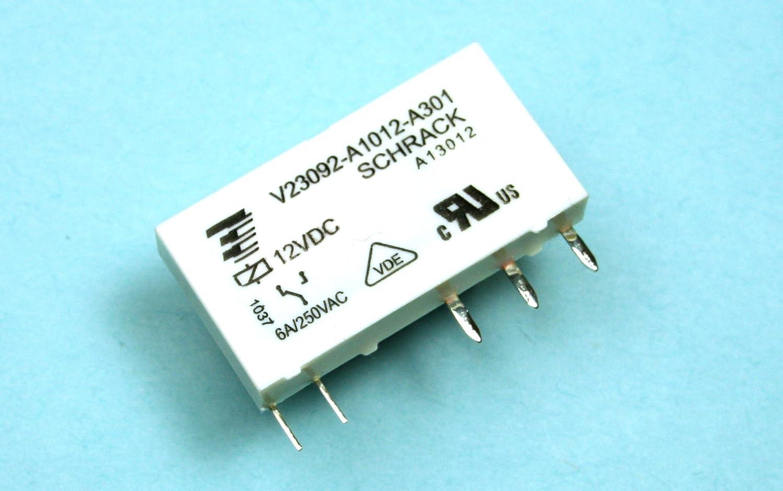6A V23092-A1012-A301 250VAC TE CONNECTIVITY Relay SCHRACK SPDT