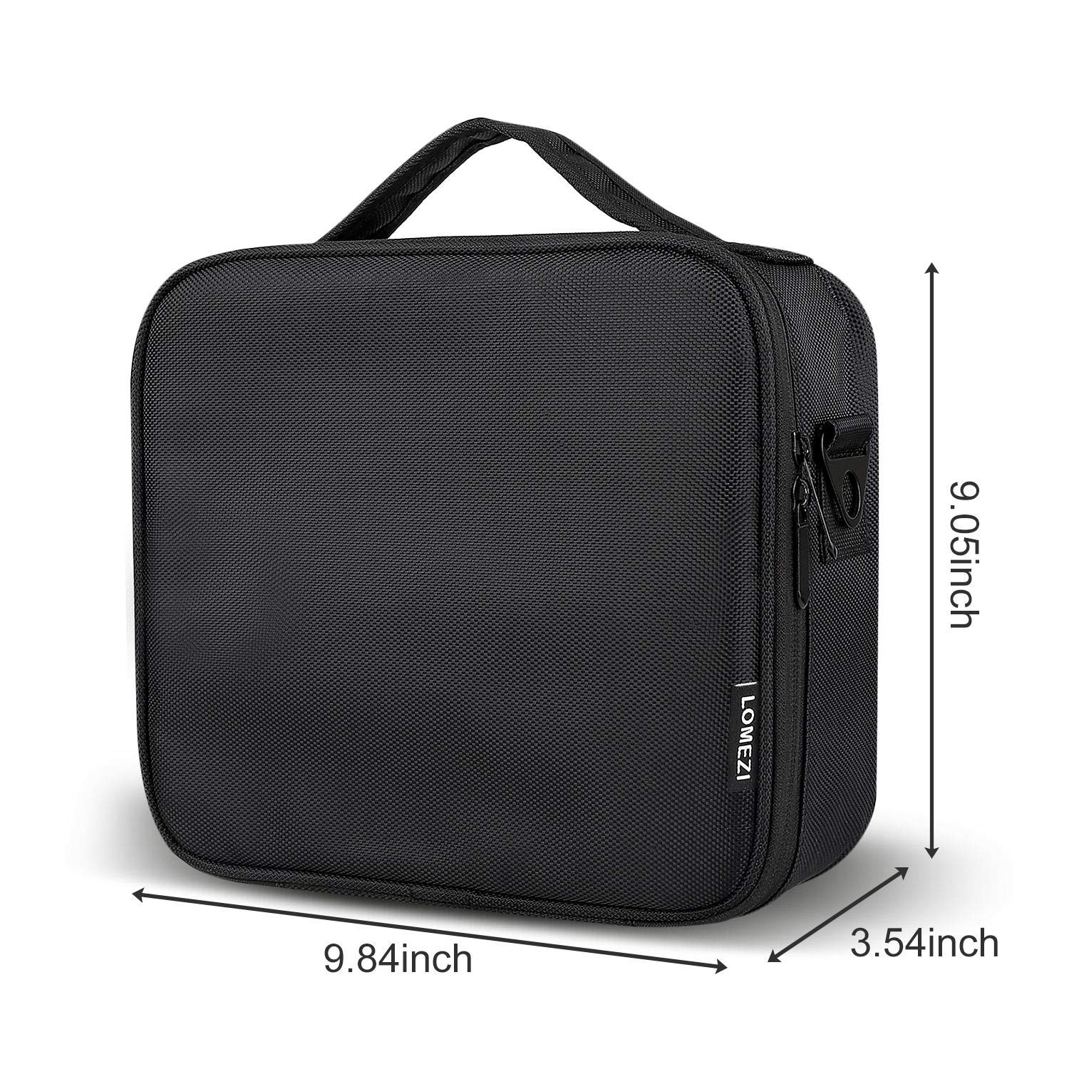 Makeup Train Case Professional Makeup Bag Travel Cosmetic Bag for Women