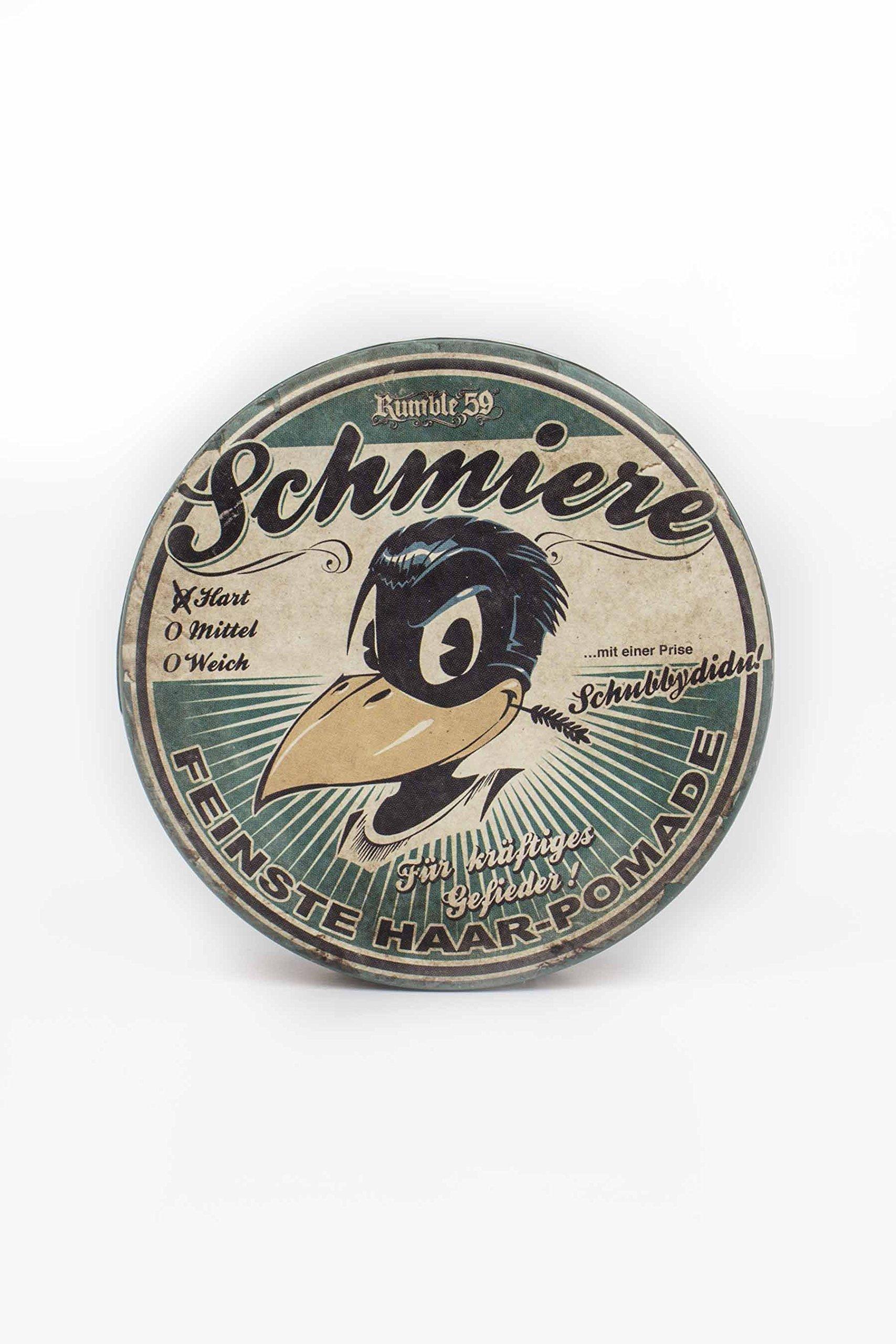 Rumble 59 Schmiere Hart (Hard) Hair Grease Pomade by Rumble59 Schmiere