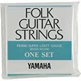 YAMAHA スーパーライトゲージ フォークギター用セット弦 FS550
