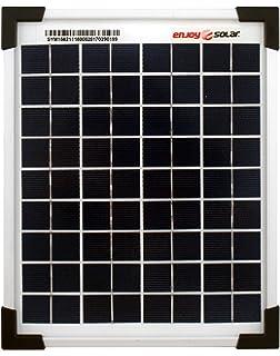 enjoysolar® polykristallin 5 W 12 V Módulo Solar Panel Solar (5 W Ideal para