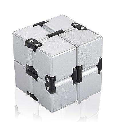 infinity cube  : Infinity Cube Fidget Toy, Single Finger Endless Fun ...
