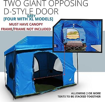 Amazon.com: Tienda de campaña de 8.5 pies. De 2 a 4 ...