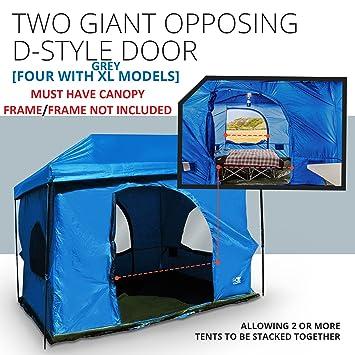 Standing Room Family Cabin Tent 8.5 FEET OF HEAD ROOM 2 Or 4 Big Screen  Doors