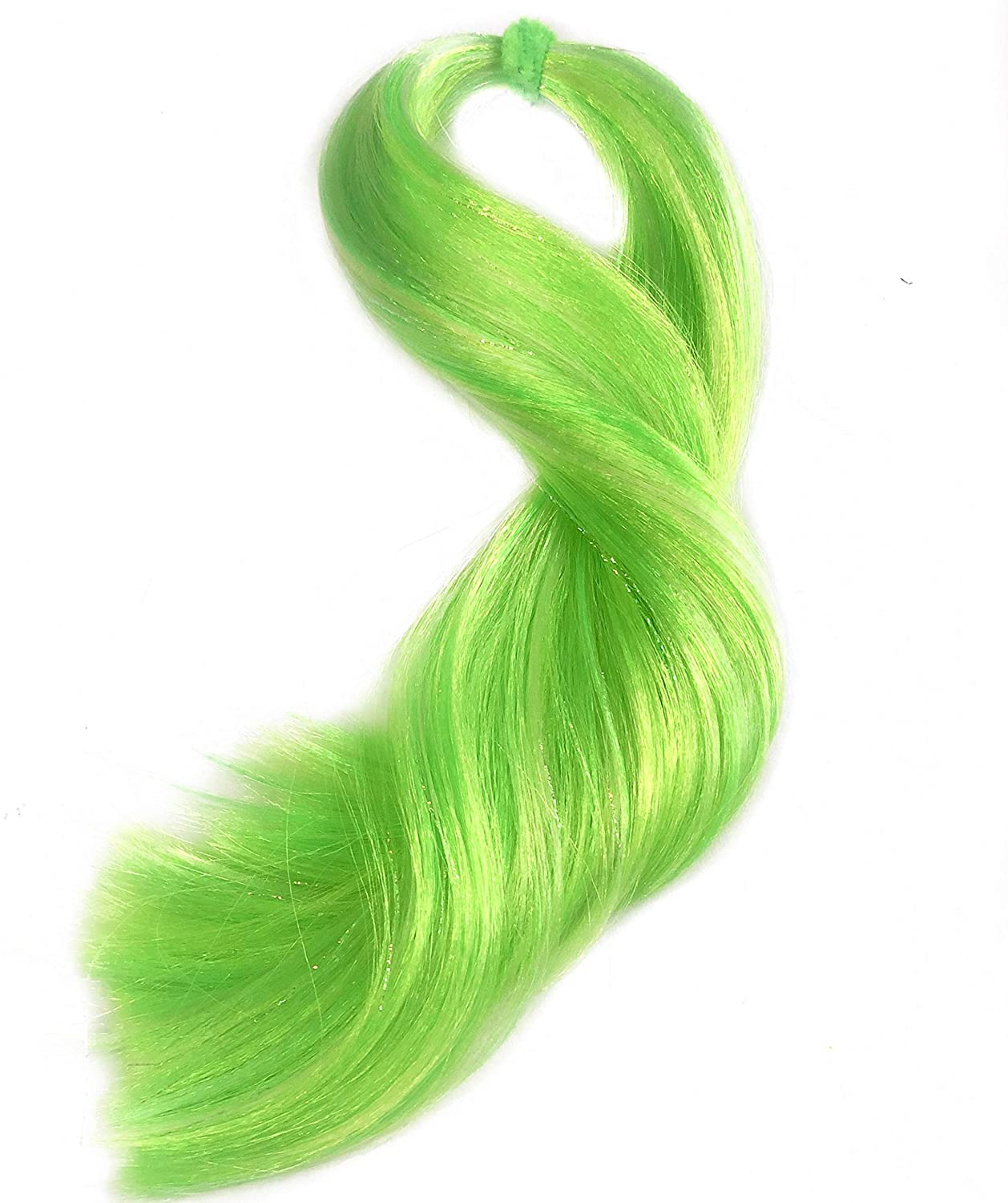 DIY Rehair 20 Grams Doll Wigs Mermaid 18 Length Professional Doll Grade Quality Deluxe Nylon Doll Hair Blends for Rerooting Dolls