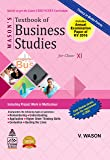 Watson's Textbook of Business Studies for Class XI