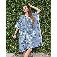 9676eb42868e SIVALYA Keywest Organic Cotton Womens Kimono Dress