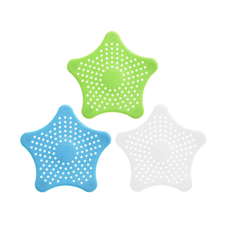 KLOUD City Pack de 3 estrellas de mar drenaje tapón de silicona ...