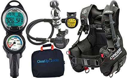 Amazon com : Cressi Start Pro 2 0 Scuba Diving Gear Package