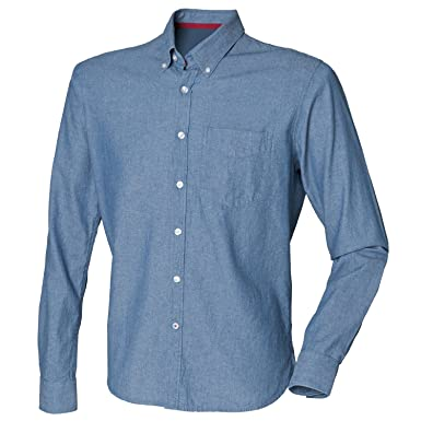 cf5b7692b3 Front Row Classic Chambray shirt at Amazon Women s Clothing store