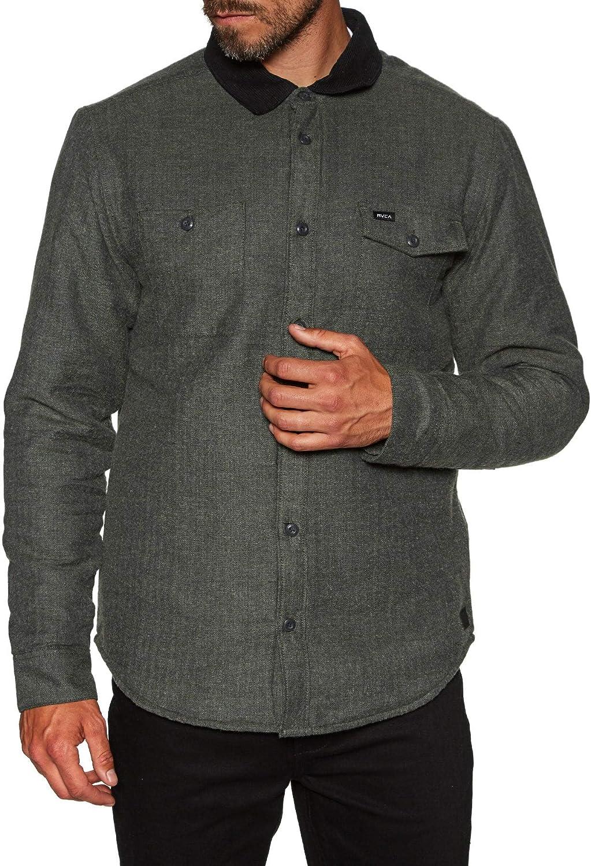 RVCA Victory II - Camiseta verde jaspeado XL: Amazon.es: Ropa