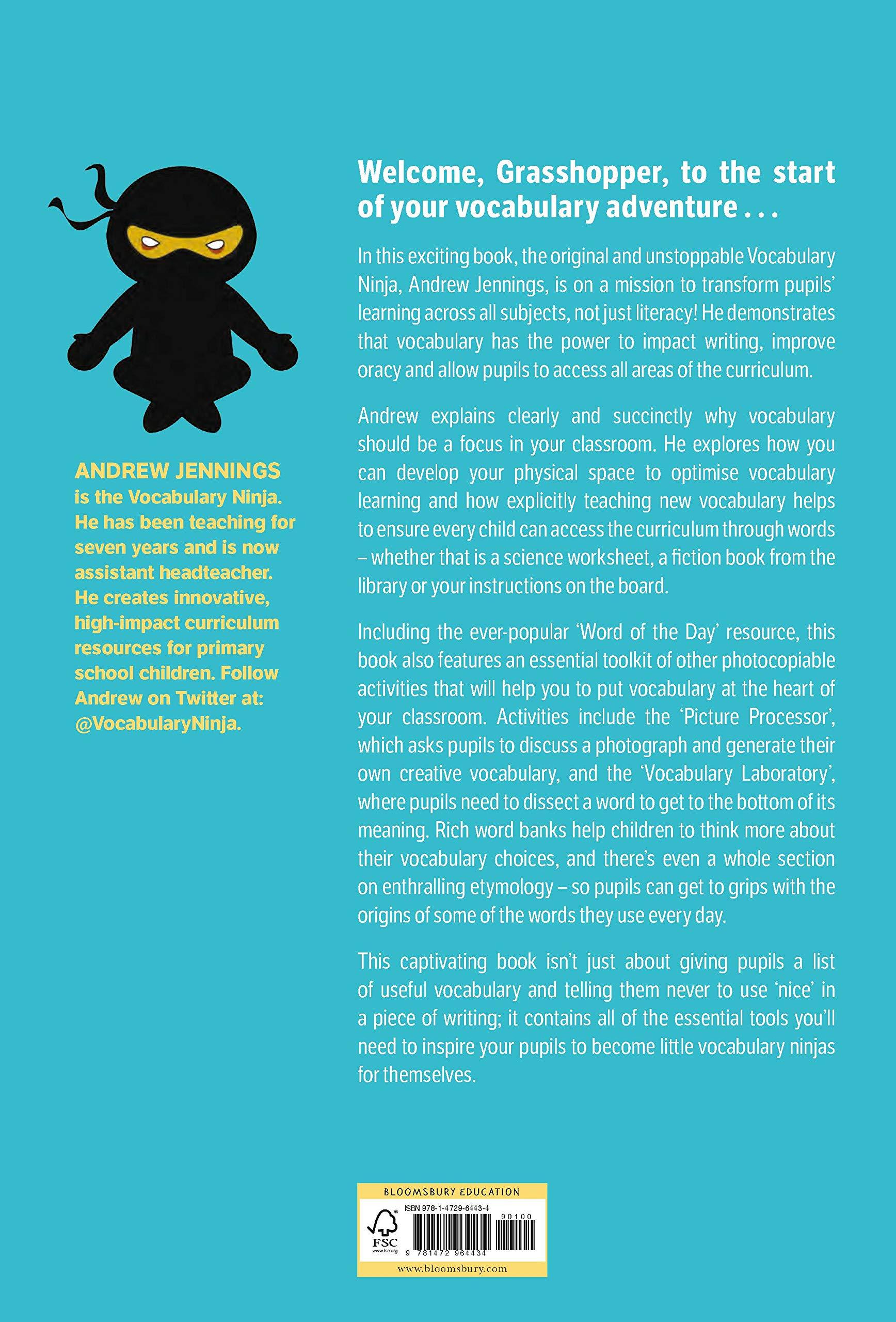 Vocabulary Ninja: Mastering Vocabulary - Activities to ...
