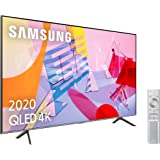 "Samsung QLED 4K 2020 50Q64T - Smart TV de 50"" con Resolución 4K UHD, con Alexa Integrada, Inteligencia Artificial 4K…"