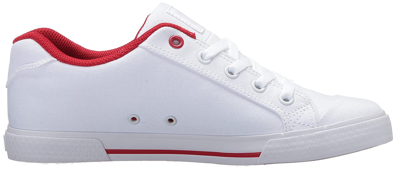 DC Women's Chelsea Tx Action Sports Shoe B0731Y6KMZ 9 M US|White/White/True Red