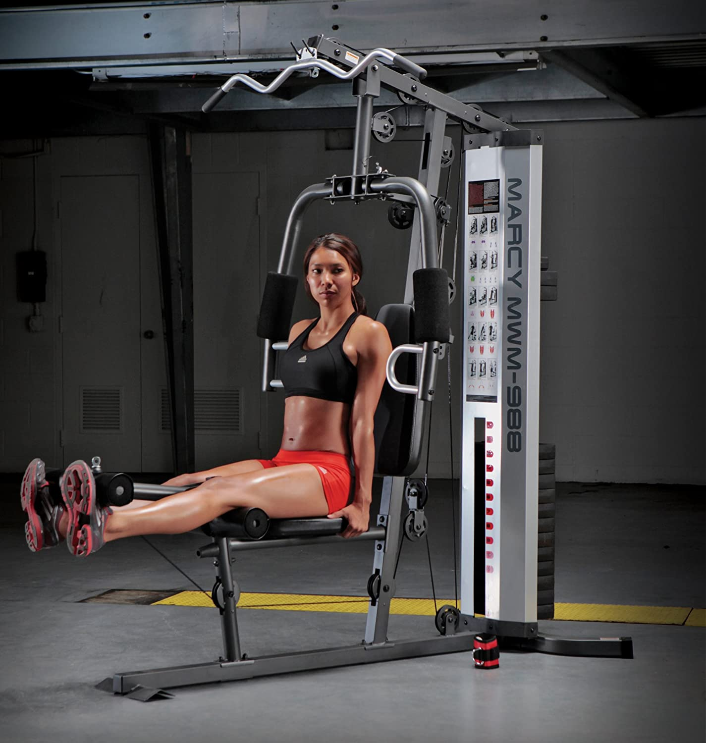 Xtreme Fitness Equipment Newton: Marcy Multifunction Steel Home Gym 150lb Workout Equipment