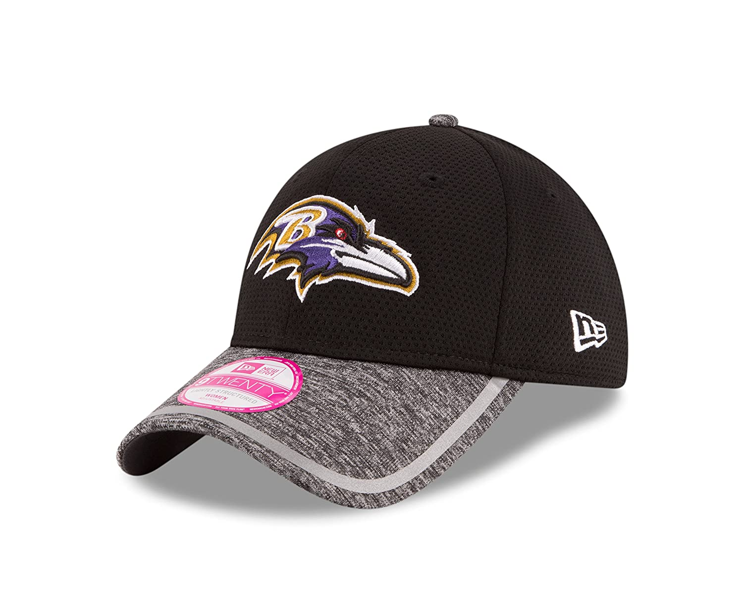 Amazon.com   New Era NFL Baltimore Ravens 2016 Women s Training Camp LS  9TWENTY Adjustable Cap 49ea21bac