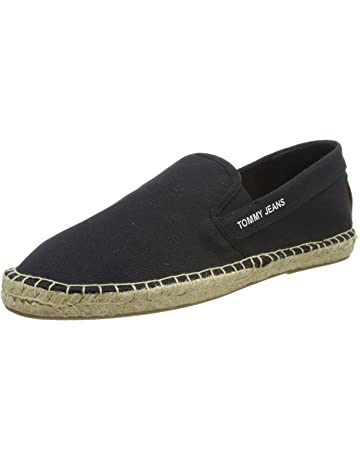 Schuhe Espadrilles slipon Tommy Hilfiger man man Stoff Leinwand Denim blau jeans