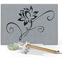 Buddha Board, ELICE Water Drawing Board Samadhi Board Artist Board Anxiety Relief Meditation Gifts, with Premium Bamboo…