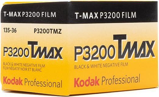 Amazon.com : Kodak P3200 TMAX Professional ISO 3200, 35mm, 36 Exposures, Black and White Film : Photographic Film : Camera & Photo