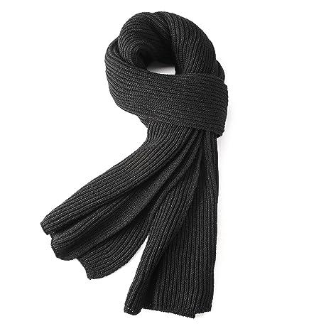 Echarpe chaude d automne et d hiver, VICWARM Écharpe en fil de Tricot 2500526443b1