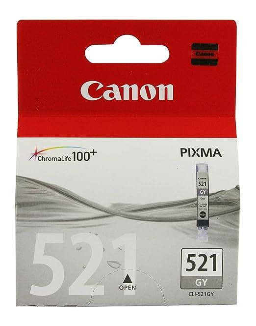 9 opinioni per Canon CLI-521 Cartuccia per Pixma MP980, colore: Grigio