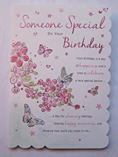 stunning top range wonderful words 5verse someone special birthday greeting card