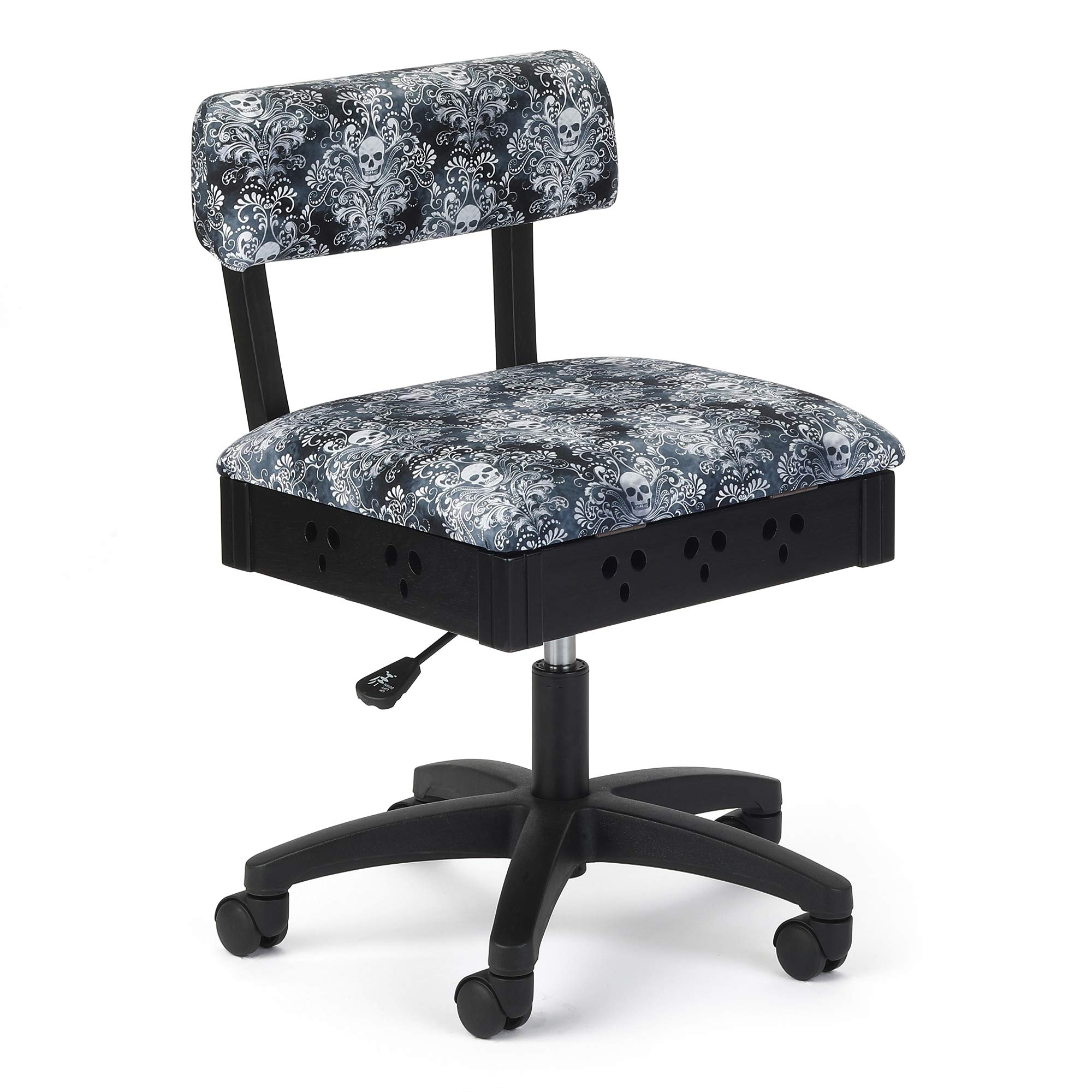 Arrow Adjustable Height Hydraulic Sewing and Craft Chair Wicked Cosplay Upholstery by Arrow Sewing Cabinets