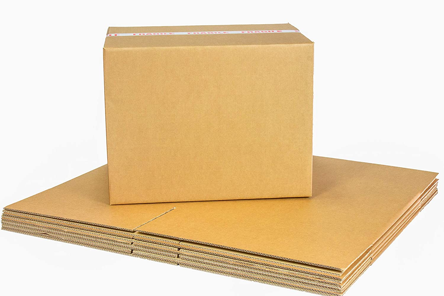 Cardboard Boxes for Storage Size Packing Or Moving House Double Walled with Free Quality Fragile Tape /& Black Marker Pen 5 Strong Extra Large 60cm x 45cm x 45cm XXL