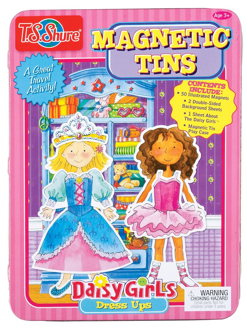 T.S. Shure Daisy Girls Magnetic Tin Playset by T.S. Shure