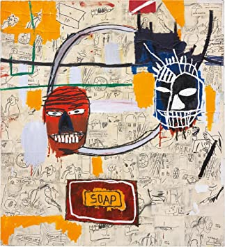 Dog  by Basquiat  Giclee Canvas Print Repro