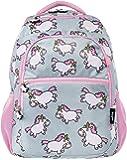 FRINGOO Boys Girls School Backpack Multi-Compartment Waterproof Junior Travel Luggage Rucksack Unicorn Bag (Chubby Unicorn)