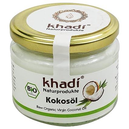 KHADI Aceite Coco Biológico- Para la piel y el cabello - Sin refinar - Bio