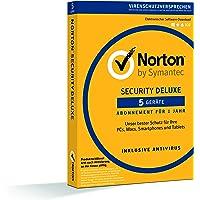 Norton Security Deluxe 2018   5 Geräte   1 Jahr   PC/Mac/iOS/Android   Download
