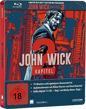 John Wick Kapitel 2 Steelbook Blu Ray Limited Edition Amazonde