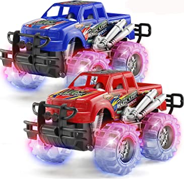Amazon.com: 2 unidades de Monster Truck de juguete para ...