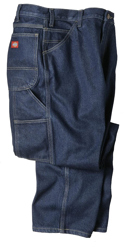 Men's Vintage Workwear – 1920s, 1930s, 1940s, 1950s Dickies Mens LD200 Industrial Double Knee Jean $38.22 AT vintagedancer.com