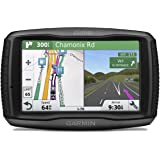 Garmin 010-01603-10 ZUMO 595LM 5 Inch Motorbike Satellite Navigation with UK, Ireland and Full Europe Maps, Free Lifetime Map Updates, Bluetooth and Car Mount Included, Black